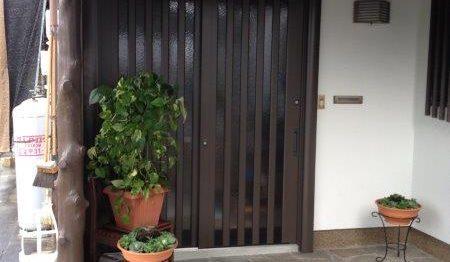 玄関リフォーム リシェント玄関引戸