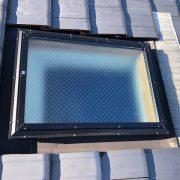 天窓 ガラス割れ替え トップライト交換