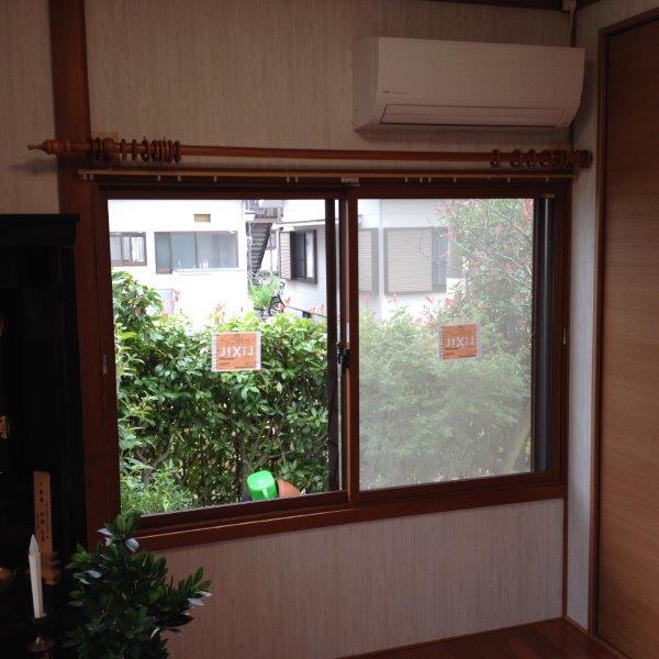 内窓 二重窓 施工 窓リフォーム 断熱