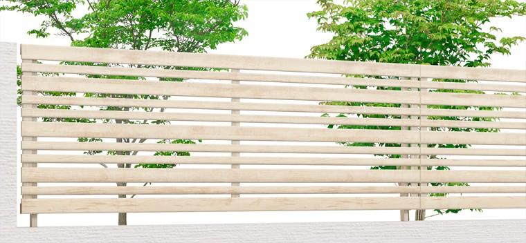 フェンスAA YR1型 木目調フェンス