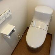トイレ交換 施工 床材張替