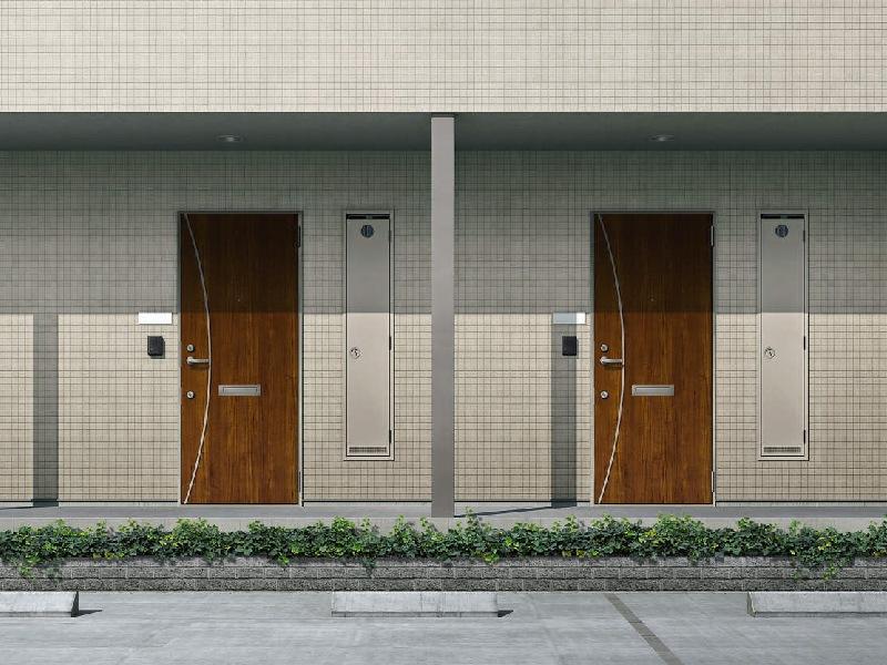 アパート用玄関ドア 非防火仕様