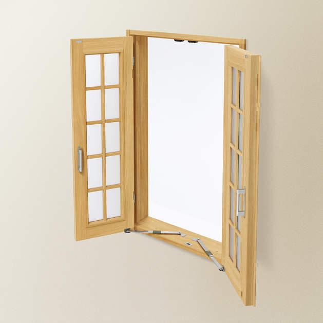 室内建具 室内窓 採光ユニット両開き窓