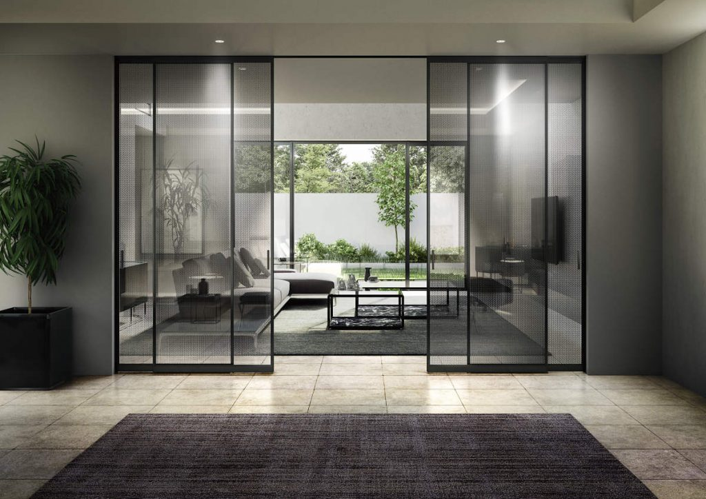 室内建具 引戸 famittoガラスデザイン