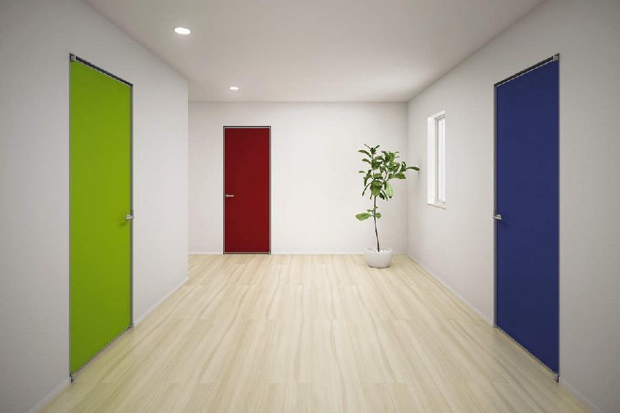 室内建具 ドア famittoクロスデザインフラット