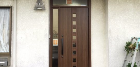 リフォーム リシェント玄関ドア