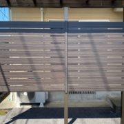 人工木材 ウッドフェンス 施工 Eウッドスタイル