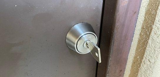 鍵 シリンダー交換