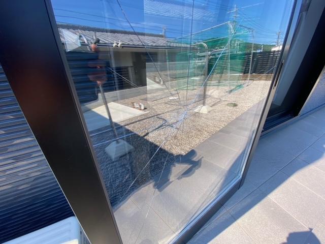 ガラス割れ替え ペアガラス 複層ガラス