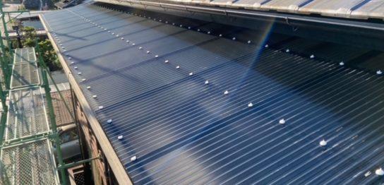 テラス屋根 修繕施工